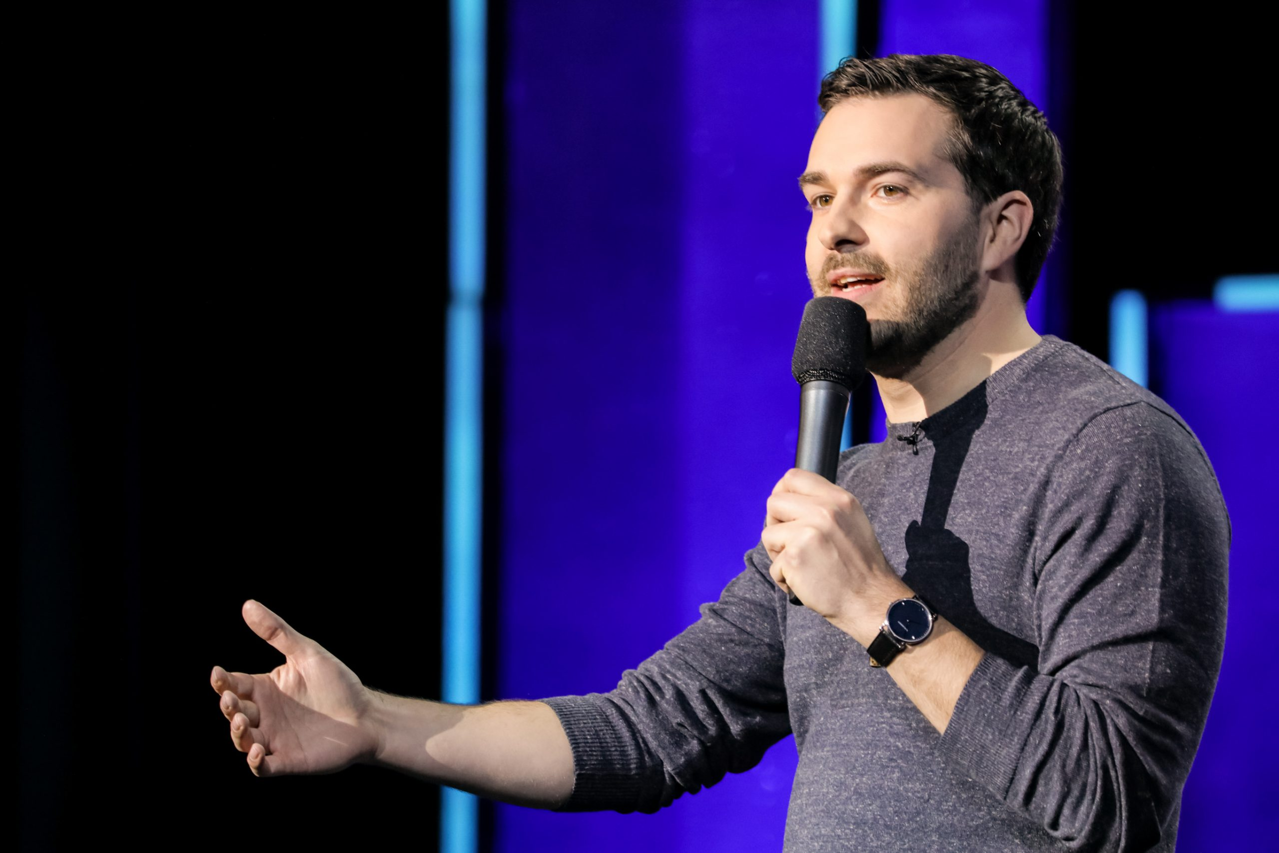 john cullen comedian on stage tour