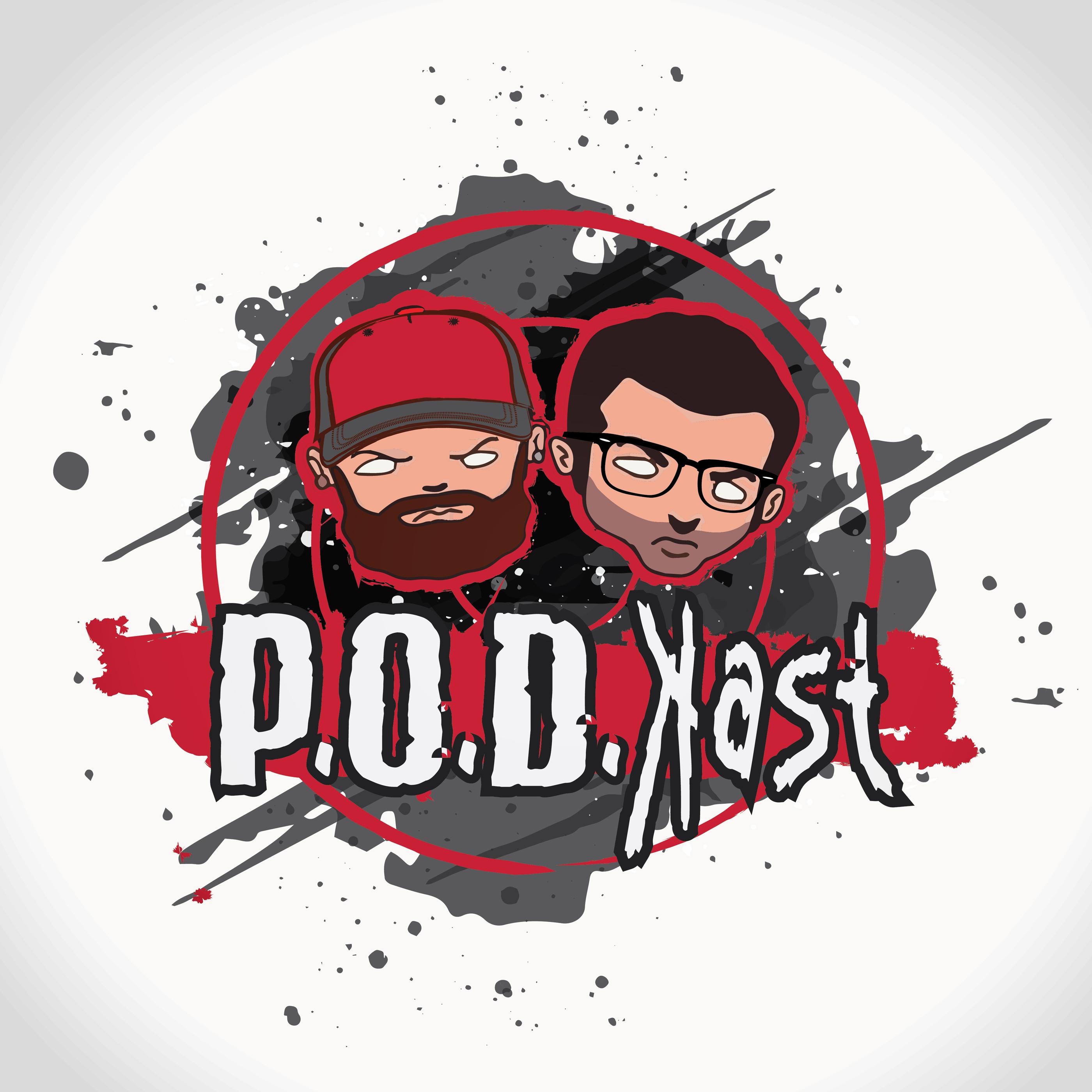 The POD kast podcast cover art